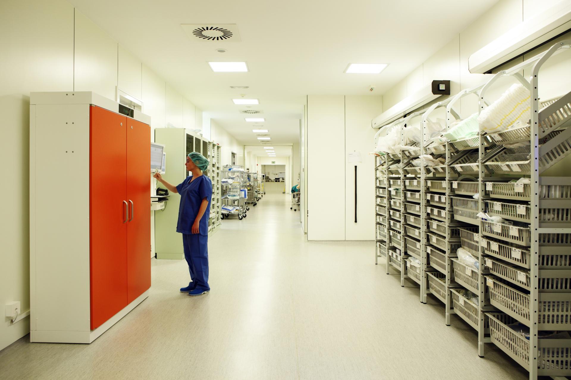 Sala operatoria hospital compamed